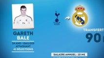 Officiel : Gareth Bale signe au Real Madrid pour 90 M€ !