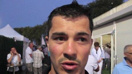 Interview supporters et joueurs avant  USO - ASM