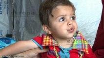 El número de niños sirios refugiados alcanza el millón