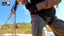 Une semaine dans les Alpes: parapente au-dessus des sommets - 22/08