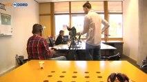 Opnames voor Bondfilm bij Groninger Archieven - RTV Noord