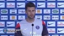 Thiago Motta évoque l'intégration d'Edinson Cavani au PSG