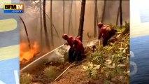 Portugal: 900 pompiers se battent contre des feux de forêt - 23/08