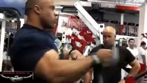 Victor Martinez and Jon De La Rosa - Back Workout 5 Weeks out from 2013 Mr. Olympia