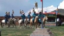 La route de la soie - La Mongolie Fête du Naadam Cérémonie - Gilles Cousin