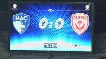 Havre AC (HAC) - AS Nancy-Lorraine (ASNL) Le résumé du match (4ème journée) - 2013/2014