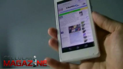 Videoreview del Sony Xperia M