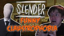 FUNNY SCARY MOMENTS :P - Slender Claustrophobia