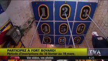 """Fort Boyard Québec 2014 : ouverture des candidatures pour Fort Boyard Québec 2015 dans """"Salut Bonjour"""" (TVA)"""