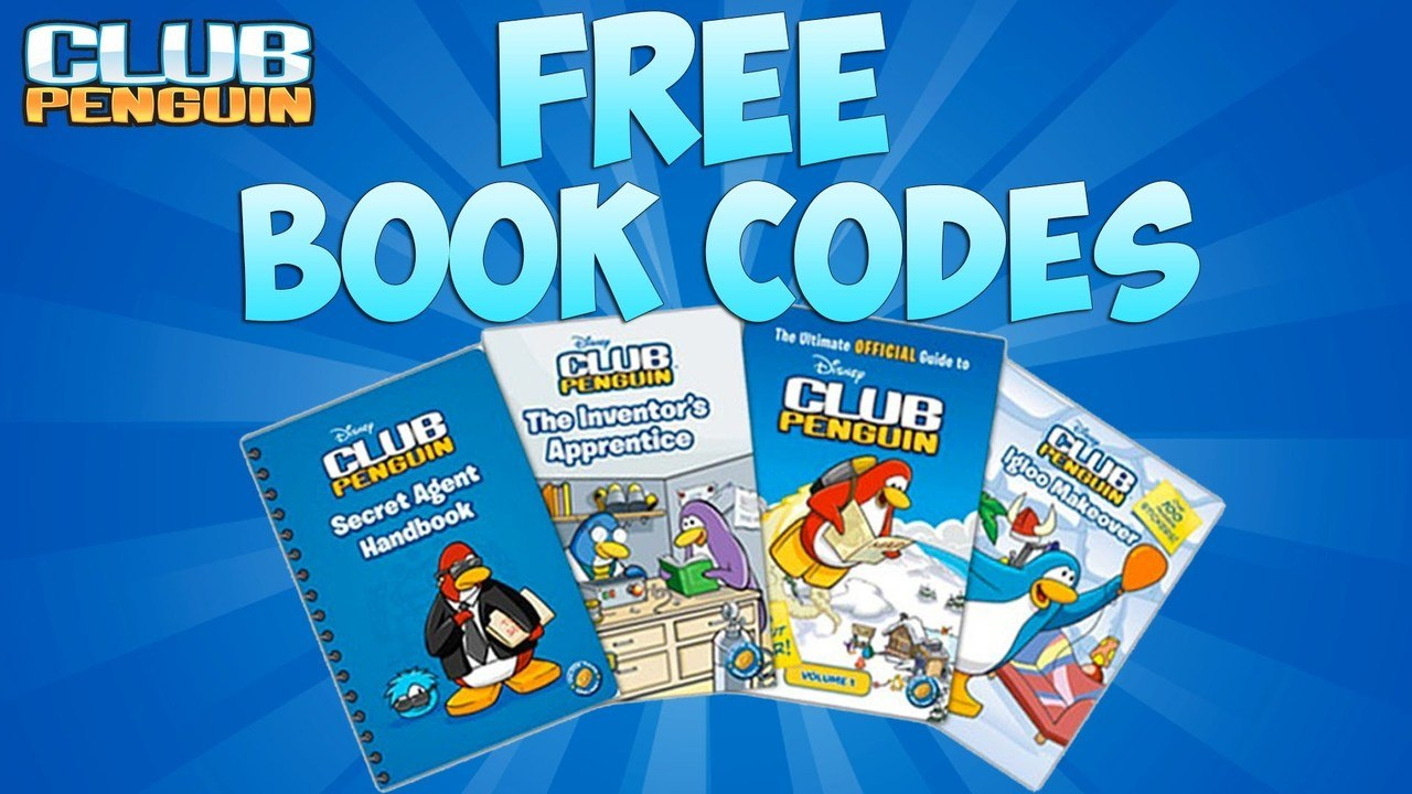 Club Penguin: Book Codes for Everyone! [66,000 Coins Availible]