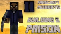 BUILDING THE WALKING DEAD PRISON [MONDAY MINECRAFT MARATHON: PART 11]