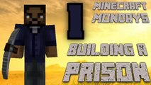 BUILDING THE WALKING DEAD PRISON [MONDAY MINECRAFT MARATHON: PART 1]