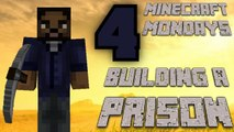 BUILDING THE WALKING DEAD PRISON [MONDAY MINECRAFT MARATHON: PART 4]