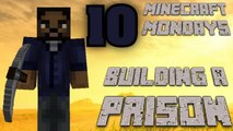 BUILDING THE WALKING DEAD PRISON [MONDAY MINECRAFT MARATHON: PART 10]