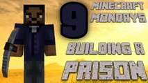 BUILDING THE WALKING DEAD PRISON [MONDAY MINECRAFT MARATHON: PART 9]