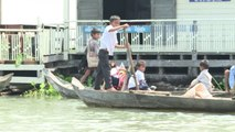Au Cambodge, l'exode menace les villages flottants du Tonlé Sap