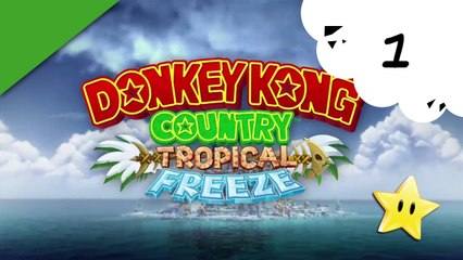 Donkey Kong Country Tropical Freeze - Wii U - 01