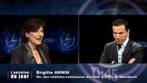 Entretien du jour du 200214 Brigitte Aknin - directrice des relations extérieures des Arts Visuels de Marrakech