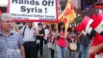 Manifestations anti-guerre aux Etats-Unis