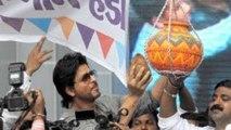 Shahrukh Khan @ Dahi Handi Celebration In Ghatkopar   Ram Kadam's Dahi Handi