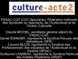 Mission culture-acte2 | FNSAC-CGT (CGT-Spectacle) [Audio]