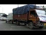 Truck full of relief- Aftermath of Uttarakhand floods