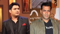 Salman Khan Follows Shahrukh Khan, Visits Comedy Nights With Kapil !