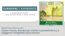 César Franck : César Franck : Sonata per violino e pianoforte in La maggiore : Allegretto poco mos
