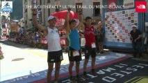 2013 Ultratrail TV - Arrivée du 3ème Homme de l'UTMB 2013. Javier Dominguez Ledo