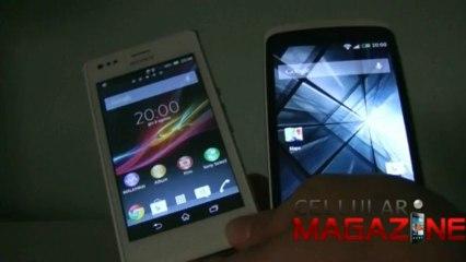 Sony Xperia M VS HTC Desire 500