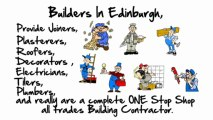 Edinburgh Builders, General Building Contractors, Builders In Edinburgh 0131 476 2122