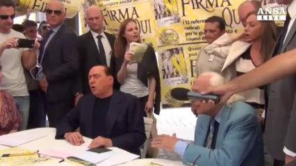 Berlusconi: da me no ultimatum a governo