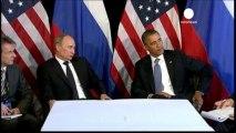 """Poutine : les armes chimiques, """"une absurdité totale"""""""