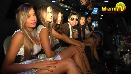 Miami TV Colombia @ Black & White Party