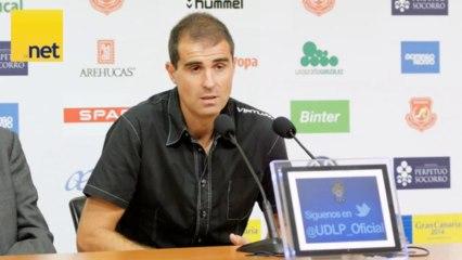 Rueda de prensa de Garitano UD Las Palmas- Eibar - Vídeos de nubloitzel del UD Las Palmas