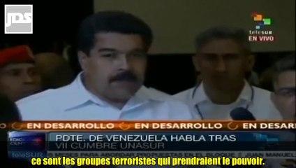 Maduro averti Hollande : Une guerre en Syrie infecterait toute l'Europe de terroristes / 30 Août 2013