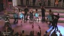 Glee behind the scenes of Original Song (including Klaine kiss)