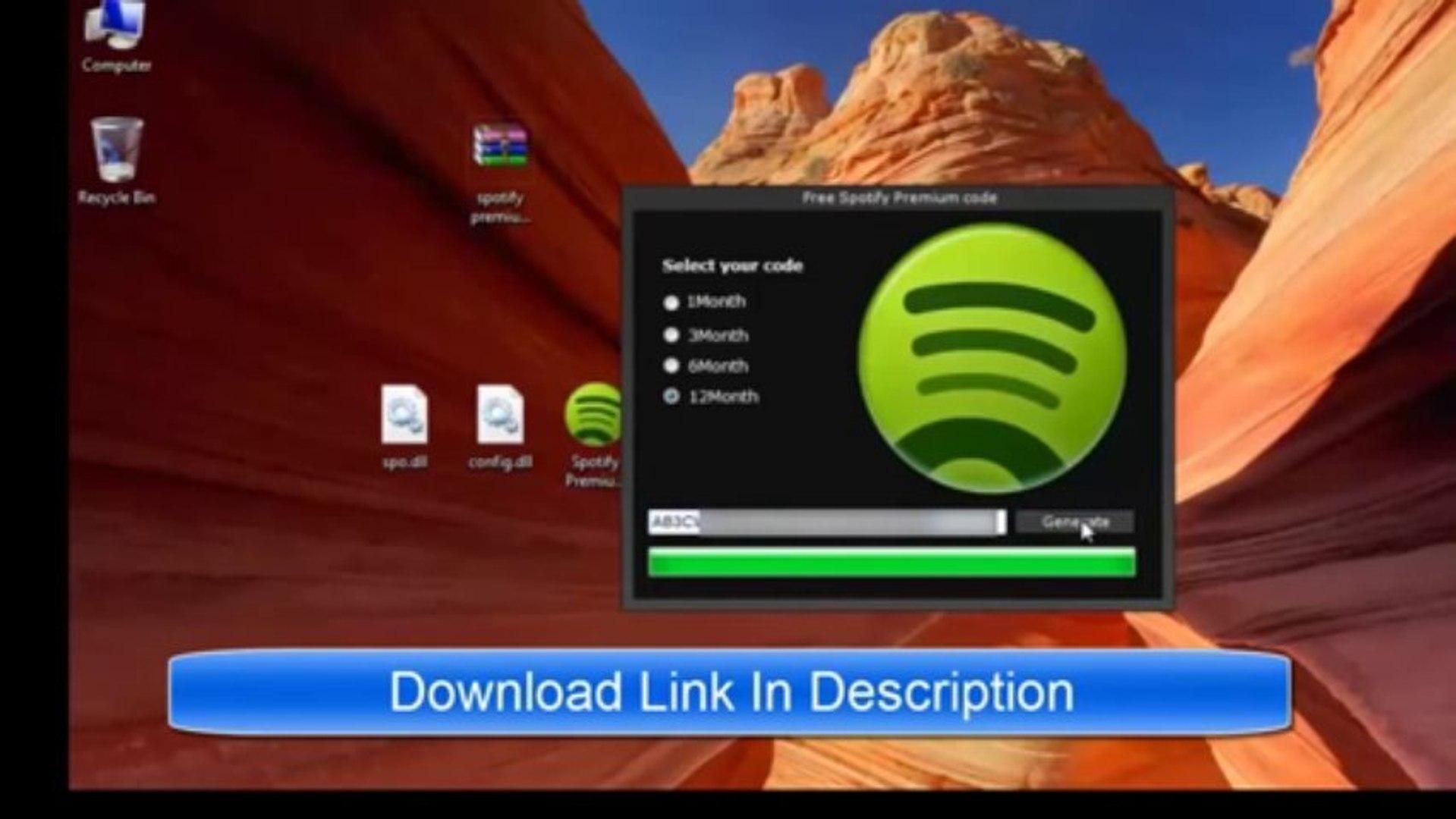 [HD] Spotify Premium Code Generator (September  2013)