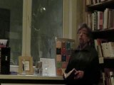 Marcus Cumberlege - Marcus reads his poetry in Brugge