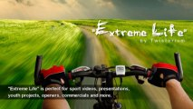 """Extreme Music (royalty-free, instrumental background rock track by Twisterium) - """"Extreme Life"""""""