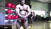 Jose Raymond & Matt Puglia - Arms Workout 5 weeks out from the 2013 Olympia