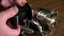Okuma Avenger ABF-50 spinning real unboxing and first look