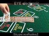 Phone monitor system marked playing cards plastic cards cheating poker cheat device