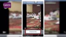 شرح برنامج لضغط حجم الفيديو في #الايفون