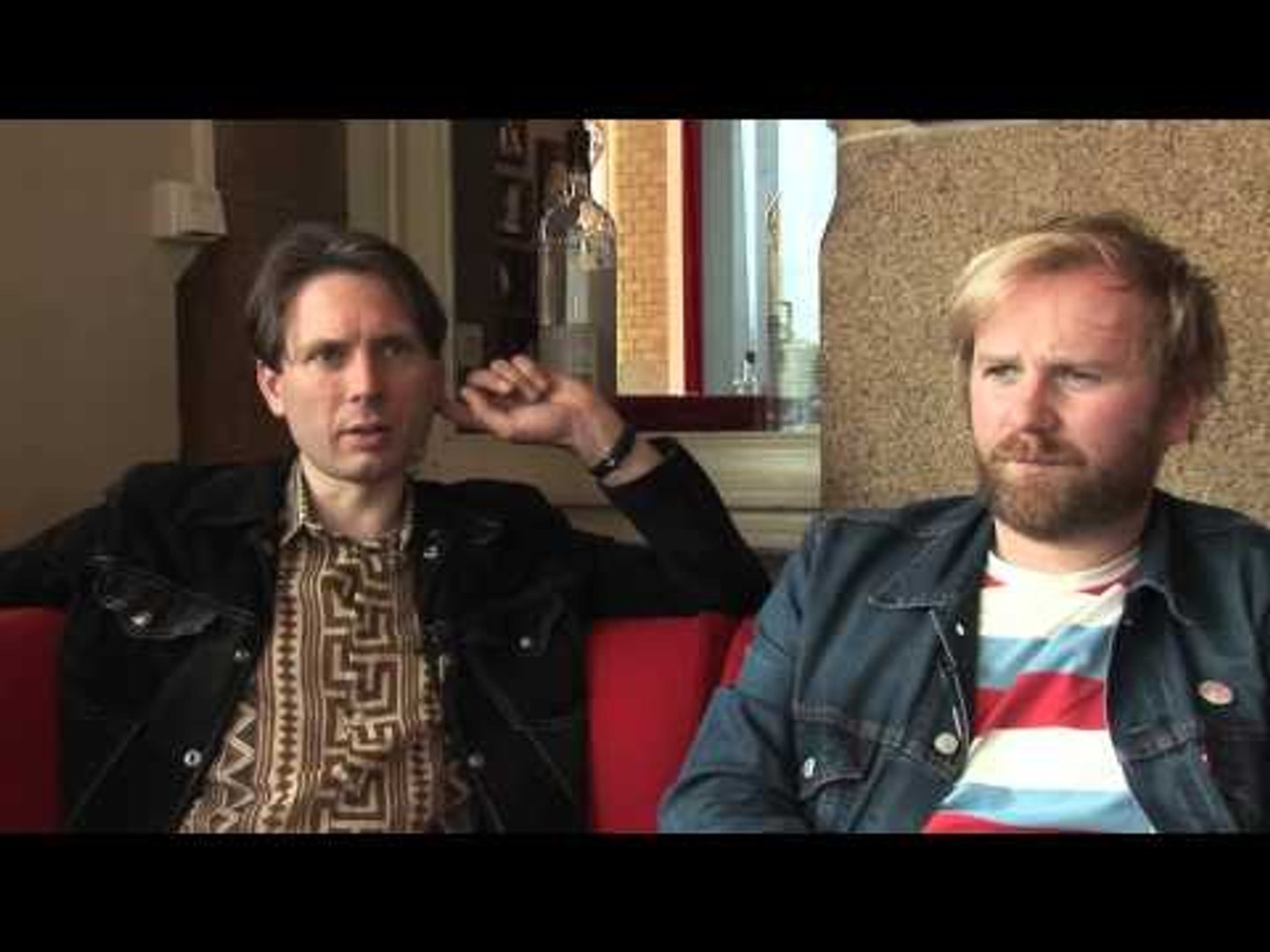 Franz Ferdinand interview - Alex and Robert (part 1)