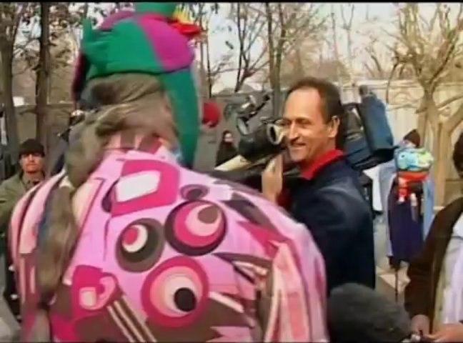 clown in Kabul