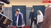 Nicolas Cage devant sa cabine de plage - Nicolas Cage devant sa cabine de plage