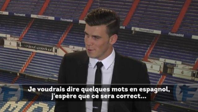 Real Madrid : les premiers mots de Gareth Bale !