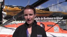 Rolex Fastnet Race 2013 : what is it all about with the Imoca 60 skippers and Lynsey Hooper