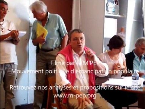 2-Université d'été 2013 du PCF - Intervention de J. Nikonoff au débat sur l'Euro - Faut-il le quitter ? le 1er sept 2013